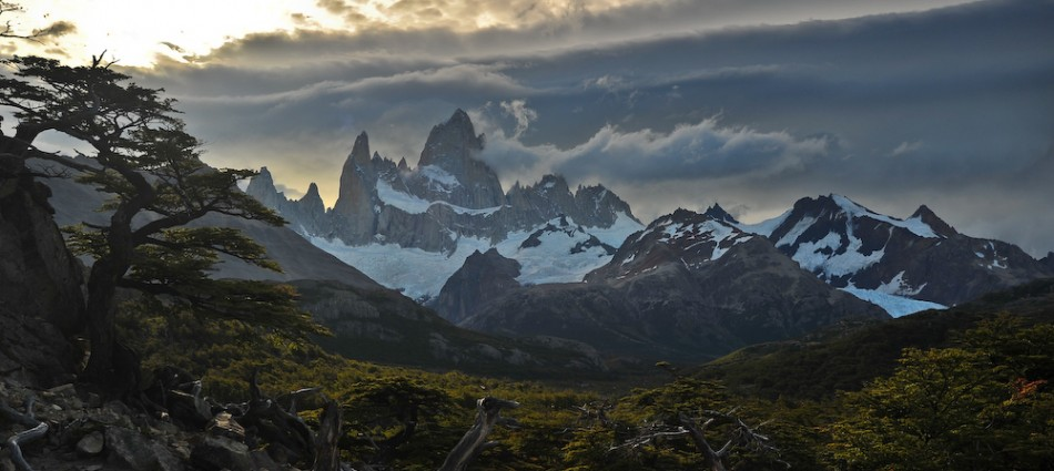 The Fitz Roy Range